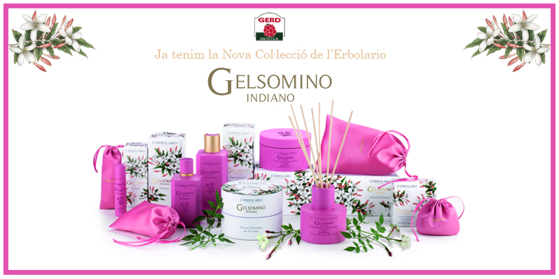 Gelsomino Indiano: Ja tenim la Nova Col·lecció de l'Erbolario
