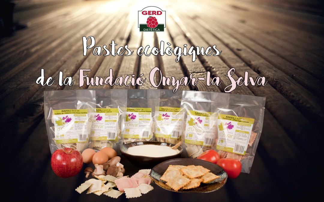 Pasta farcida de la Fundació Onyar – La Selva: Ecològica, de Qualitat i de Proximitat