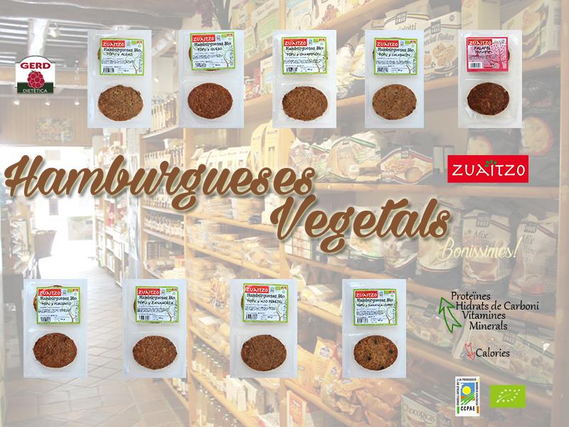 Les Hamburgueses Vegetals més delicioses que pots menjar!