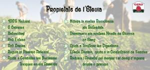 Propietats Stevia