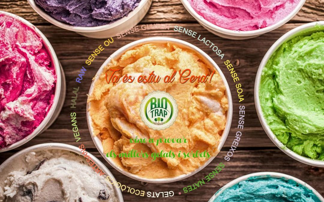 BioTrap: els millors gelats i sorbets ECO, artesans, vegans, sense gluten…
