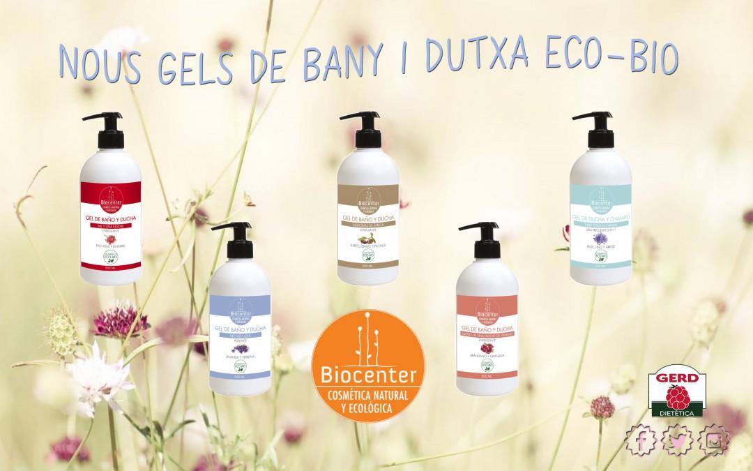 Nova gamma de gels de dutxa i xampús ECO-BIO per a tota la família