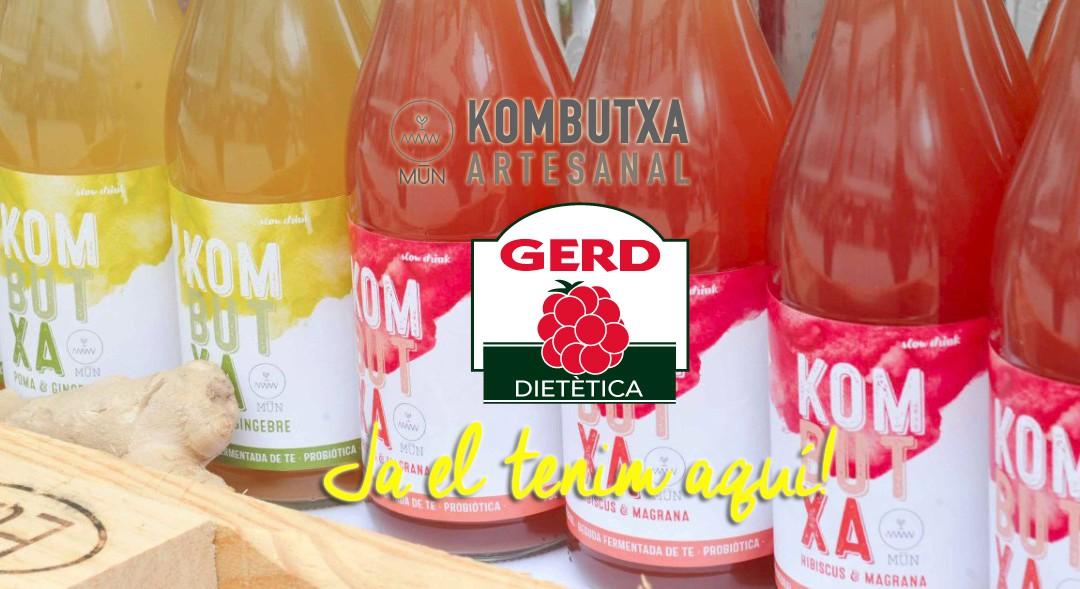 Mūn Kombutxa: la beguda viva, refrescant i saludable