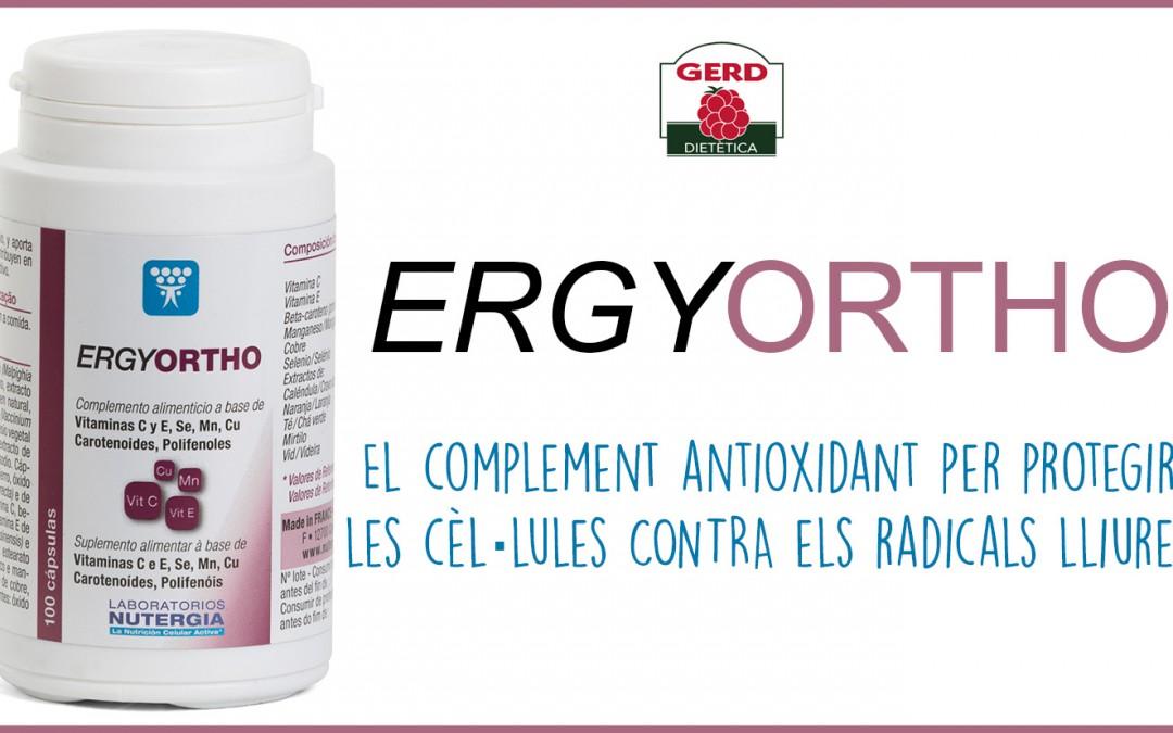 ErgyORTHO, l'aliat antioxidant de les nostres cèl·lules