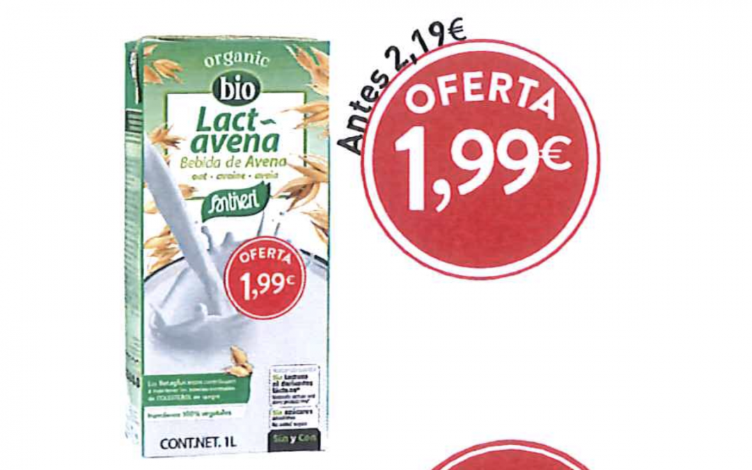 OFERTA: Llet de Civada Lactavena a 1,99€